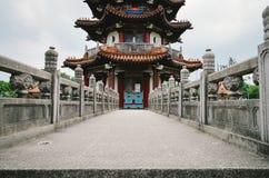 Punkt zwrotny architektura w parku w Taipei Obrazy Royalty Free