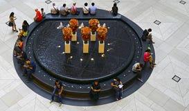 Punkt zwrotny fontanna, Hong kong Zdjęcie Stock