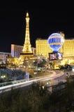 punkt zwrotny las noc Vegas obrazy royalty free