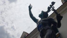 Punkt zwrotny przy Juanda ulicą zdjęcia royalty free