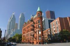 punkt zwrotny s Toronto zdjęcie royalty free