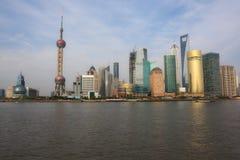 punkt zwrotny Shanghai Fotografia Royalty Free