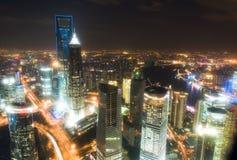 Punkt zwrotny Shanghai miasto obraz royalty free