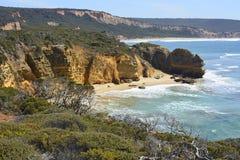 PunktAddis kust i Victoria, Australien Royaltyfria Foton
