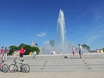 Punktdelstatspark Pittsburgh royaltyfria foton