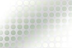 Punkte und Kreishintergrund Lizenzfreies Stockfoto