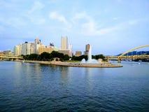 Punkten i Pittsburgh arkivfoto