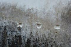 Punkterad vägg Arkivfoto