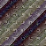 Punktieren des diagonalen Musters Stockfotos