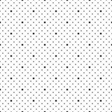 Punktiert nahtloses Muster stock abbildung