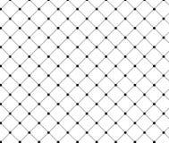 Punktierte Diamantform verzieren mit Kreis Stockfotografie