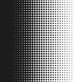 Punktierte Hintergrundvektor-Illustrations-, weiße und Schwarzehalbtonsteigung nahtlos Lizenzfreie Stockfotografie