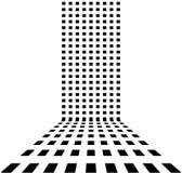 Punktierter Retro- abstrakter Hintergrund lizenzfreie abbildung