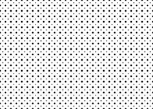 Punktiertes einfaches nahtloses Vektormuster Stockbild
