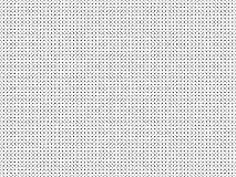 Punktiertes einfaches nahtloses Vektormuster Stockfotografie