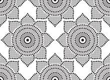 Punktiertes Muster der nahtlosen Zusammenfassung Lizenzfreie Stockbilder