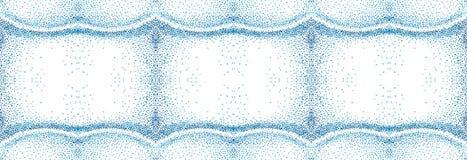 Punktiertes nahtloses Muster Lizenzfreies Stockfoto