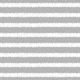 Punktiertes nahtloses Muster des Streifenvektors Abstrakte Punktbeschaffenheit für für Oberflächendesigne, Gewebe, Packpapier stock abbildung