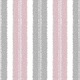 Punktiertes nahtloses Muster des Streifenvektors Abstrakte Punkte masern für Oberflächenentwurf, Gewebe, Packpapier, Tapete stock abbildung