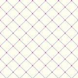 Punktiertes nahtloses Muster mit Rauten-Struktur-Beschaffenheit Lizenzfreie Stockfotografie