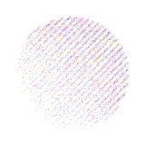 Punktierung punktiert abstrakten Hintergrund des Effektes vektor abbildung