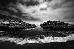 PunktLobos delstatspark Kalifornien royaltyfri fotografi