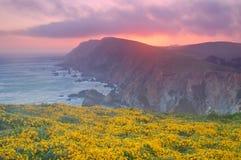 punktreyes solnedgång Arkivbilder