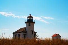 Punktrobinson-Leuchtturm Stockfotos