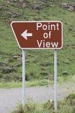 punktsikt arkivbild