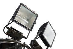 Punktu światło odizolowywający Fotografia Stock