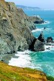 Punktu Bonita Latarnia morska w Kalifornia, USA Zdjęcie Stock