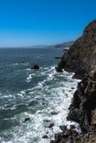 Punktu Bonita wybrzeże, Kalifornia obraz stock