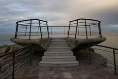 punktu morze przeglądać Obrazy Royalty Free