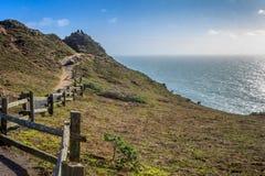 Punktu Reyes Seashore Krajowi widoki fotografia stock