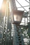Punktu Saikawa rzeki most Japonia Zdjęcie Royalty Free