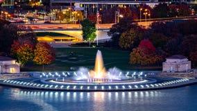 Punktu stanu park w Pittsburgh zdjęcie royalty free