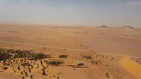 Punktu widzenia algierczyk Sahara od Żydowskich ruin zdjęcie wideo