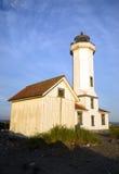 PunktWilson Nautical Lighthouse Puget Sound fort Worden Arkivbilder
