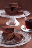 punkty czekoladowi Zdjęcia Stock