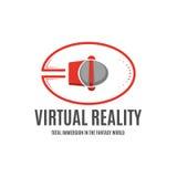 Punkty rzeczywistość wirtualna dla zupełnej immersi w 3D s Zdjęcia Royalty Free