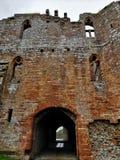 Punkty zwrotni Cumbria - Brougham kasztel obraz royalty free