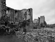 Punkty zwrotni Cumbria - Brougham kasztel obraz stock