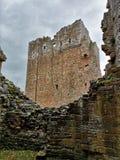 Punkty zwrotni Cumbria - Brougham kasztel zdjęcie stock