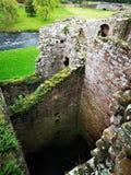 Punkty zwrotni Cumbria - Brougham kasztel obrazy stock