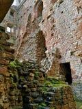 Punkty zwrotni Cumbria - Brougham kasztel zdjęcia royalty free