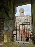 Punkty zwrotni Cumbria - Brougham kasztel obrazy royalty free
