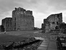 Punkty zwrotni Cumbria - Brougham kasztel fotografia royalty free