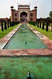 Punkty zwrotni India - brama Taj Mahal zdjęcia royalty free