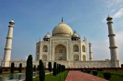 Punkty zwrotni India - Taj Mahal fotografia stock