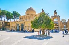 Punkty zwrotni Julfa, Isfahan, Iran Zdjęcie Stock